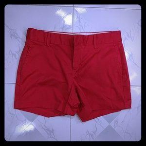 Banana Republic Red Shorts